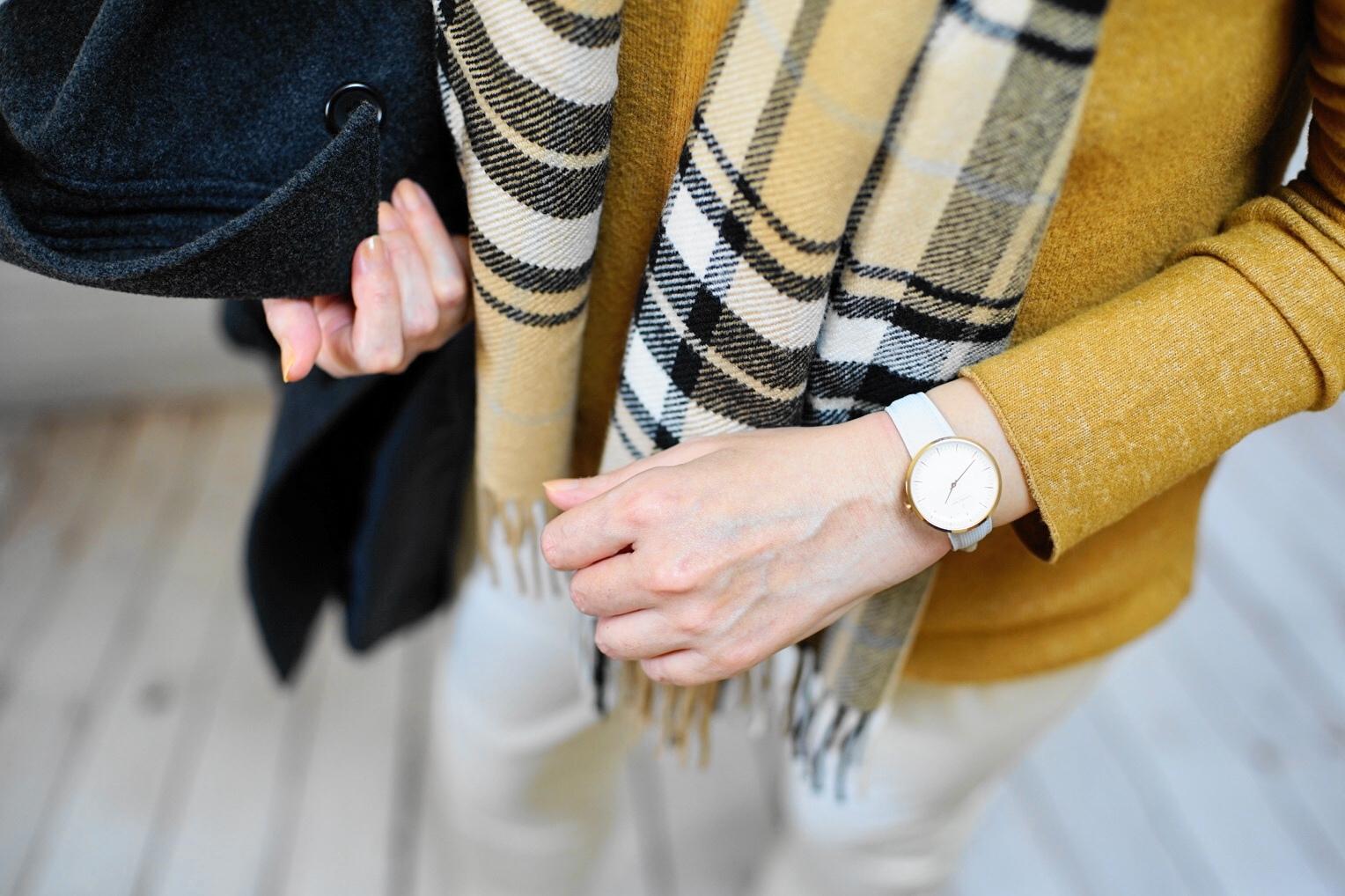 Nordgreen × Koyuki コラボストラップ 雪色ストラップ着用イメージ2